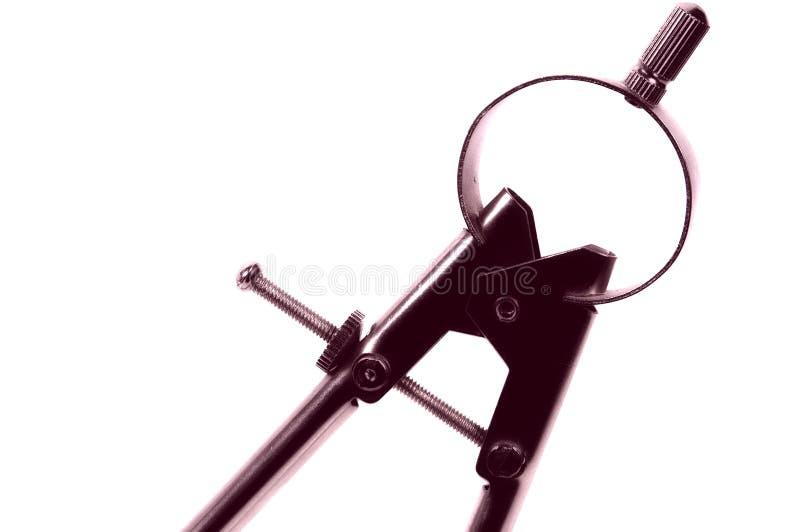 指南针图画 免版税库存照片