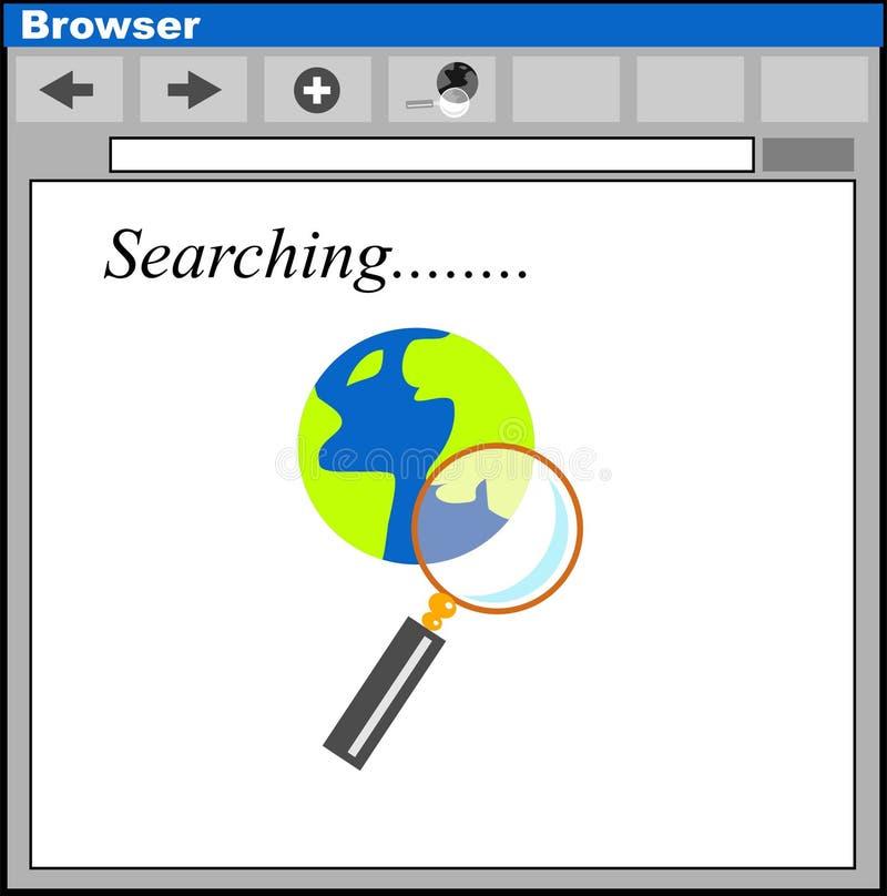 搜索 库存例证