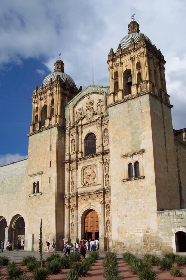 教会多明戈santo 图库摄影