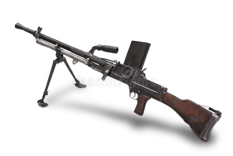 26捷克斯洛伐克的枪光设备vz zb 免版税库存照片