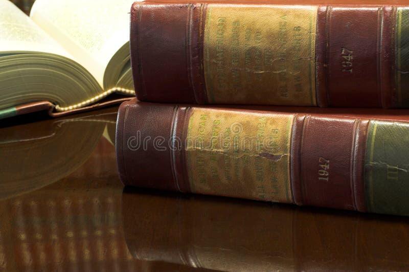 26 книг законных стоковое изображение