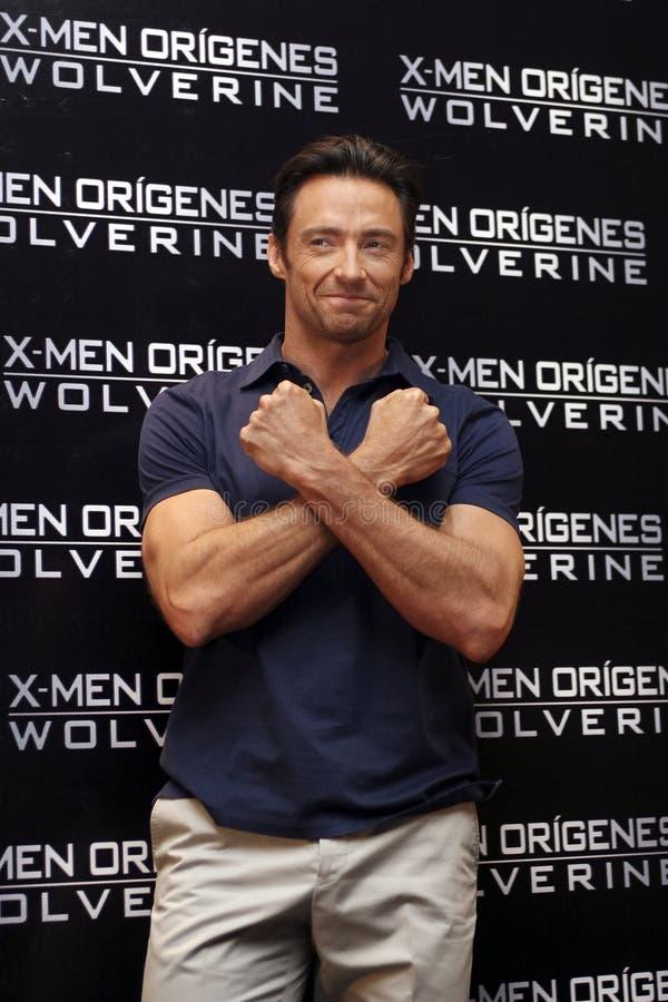 26 2009 skådespelarestad jackman hugh kan mexico royaltyfri fotografi