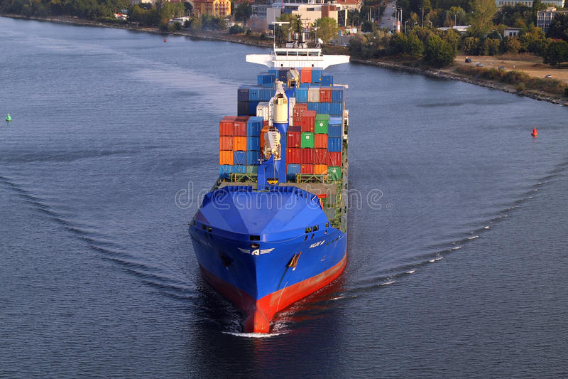 26 Bulgaria ładunku Wrzesień statku turkish Varna obrazy royalty free