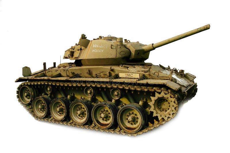 26 chaffee m坦克 库存例证