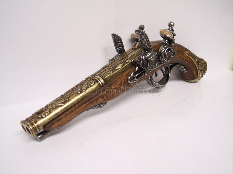 旧时的枪 免版税库存照片