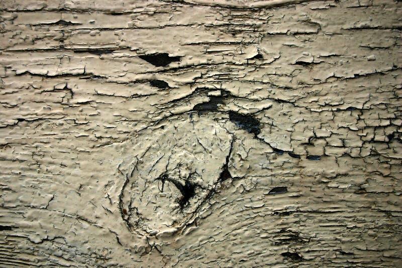 木老被绘的板条 库存照片