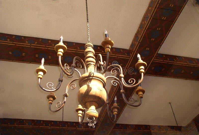 枝形吊灯西班牙语 免版税库存图片