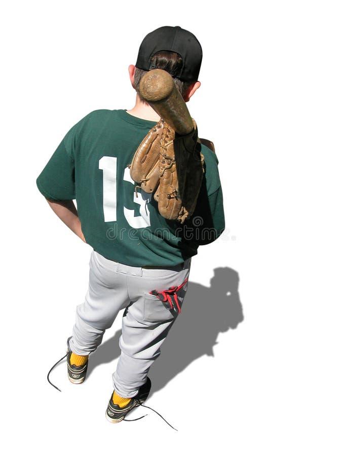 棒球梦想 库存图片