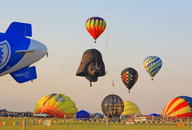 The 26th Annual New Jersey Balloon Festival stock photo