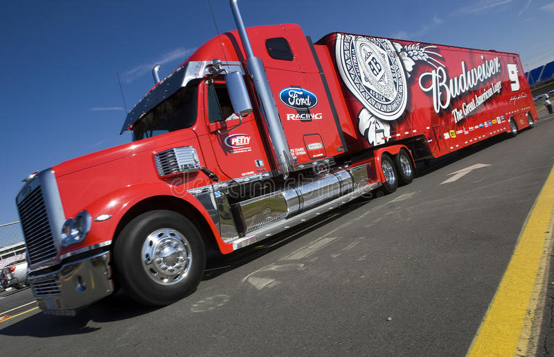 27 600 koka-kola może nascar fotografia royalty free