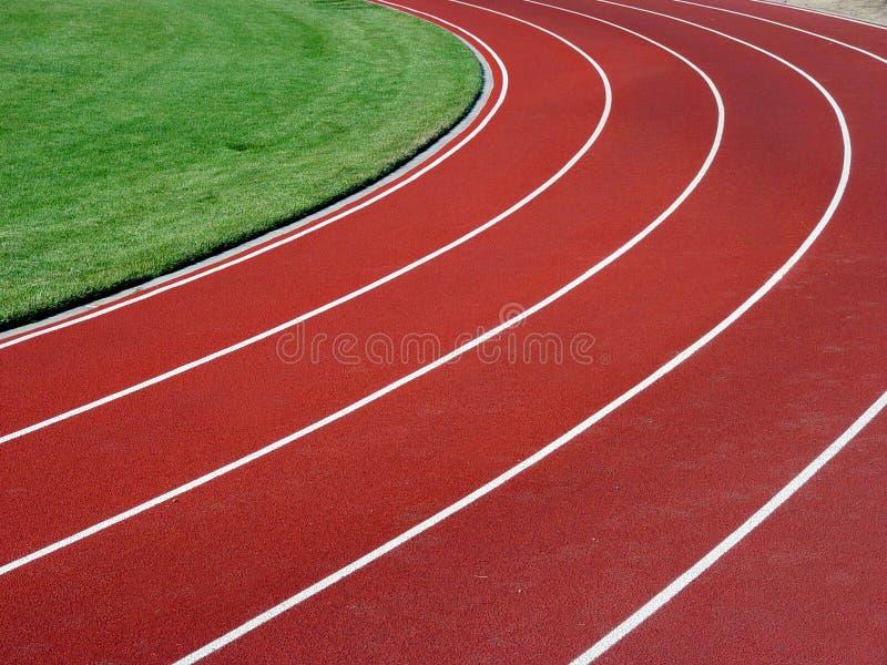 水平的跑道 图库摄影