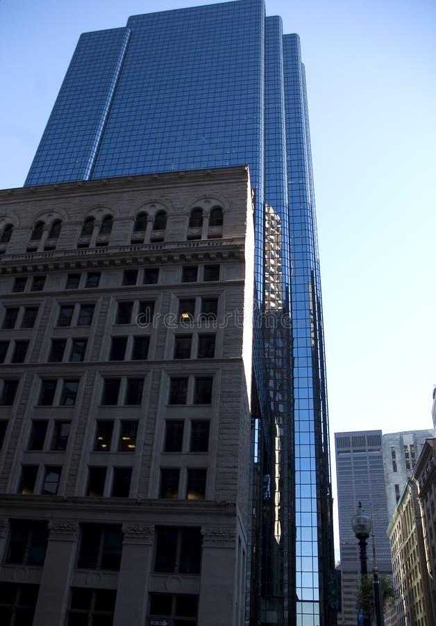 波士顿摩天大楼 库存照片