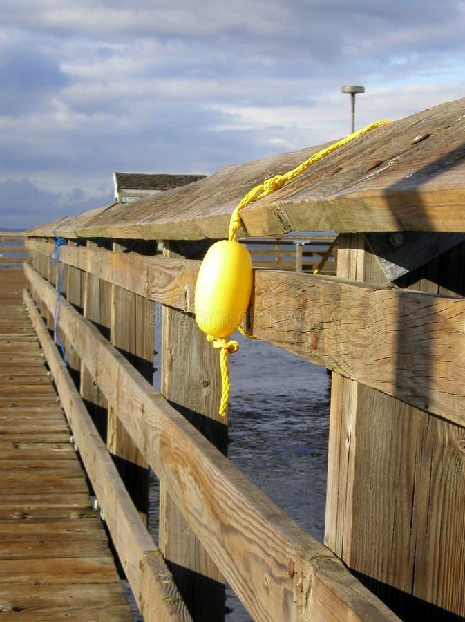 浮动黄色 库存照片