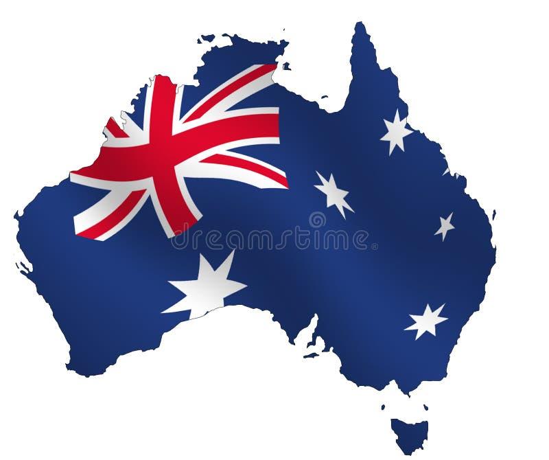 澳大利亚 向量例证