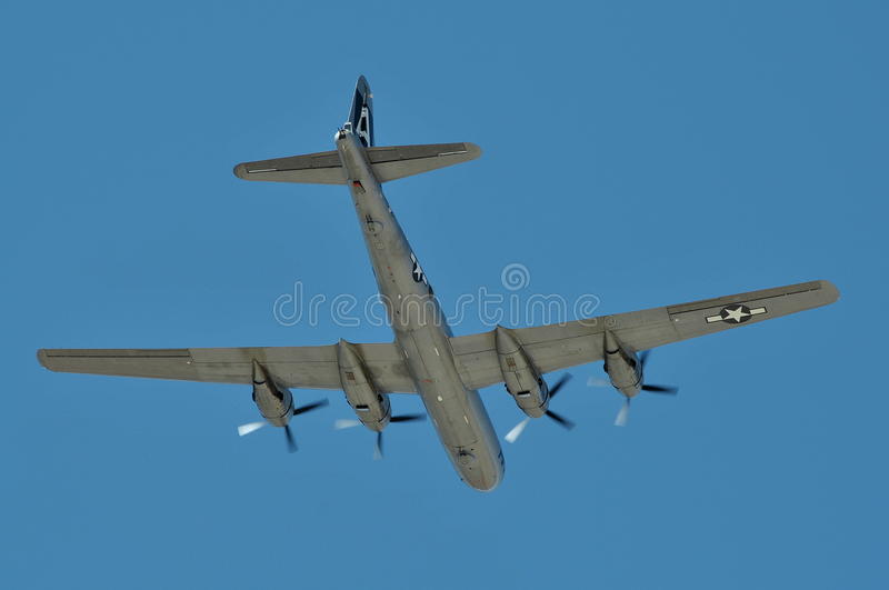 29 b-superfortress royaltyfria bilder