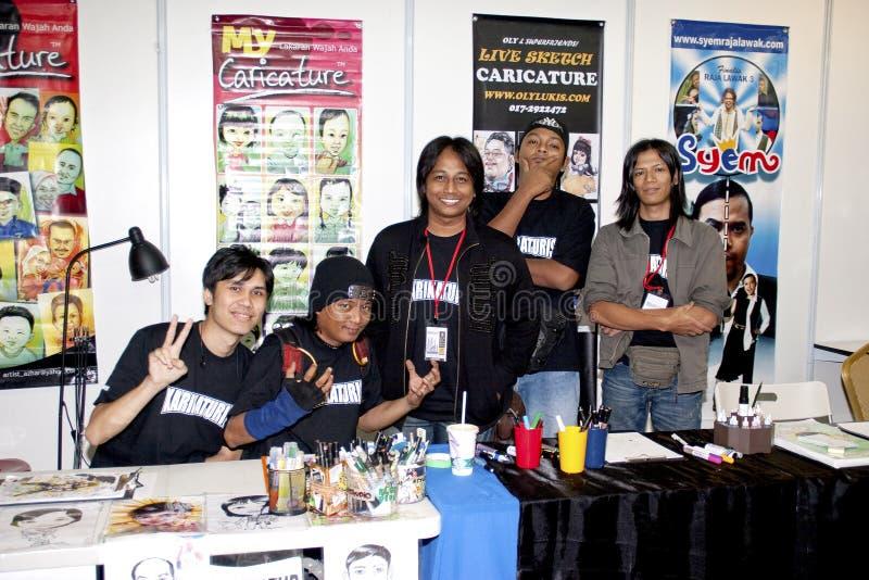 29. Kuala- Lumpurinternationale Buch-Messe 2010 stockfotografie