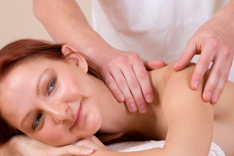 29 massage royaltyfri foto