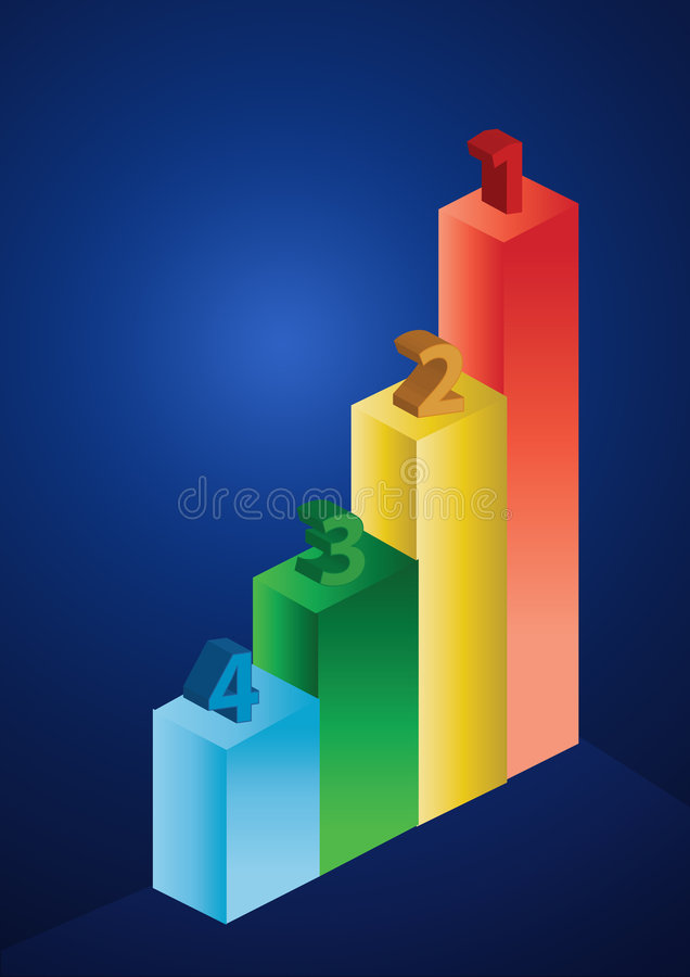 Download 2d business statistics stock illustration. Image of demographic - 6110819
