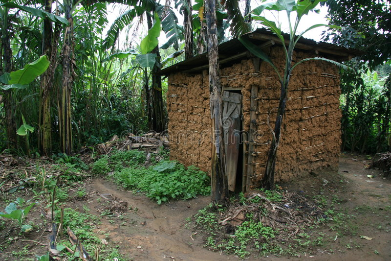 Download African hut stock image. Image of uganda, african, congo - 7514973