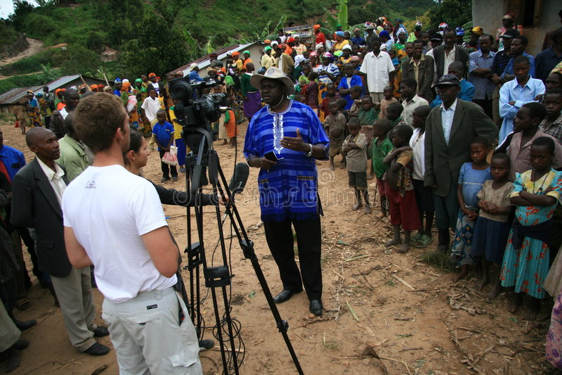 Download 2nd Nov 2008. Refugees From DR Congo Editorial Stock Photo - Image of border, busanza: 7516103