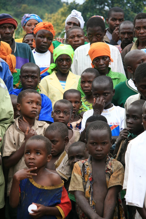 Free 2nd Nov 2008. Refugees From DR Congo Royalty Free Stock Photos - 7516128