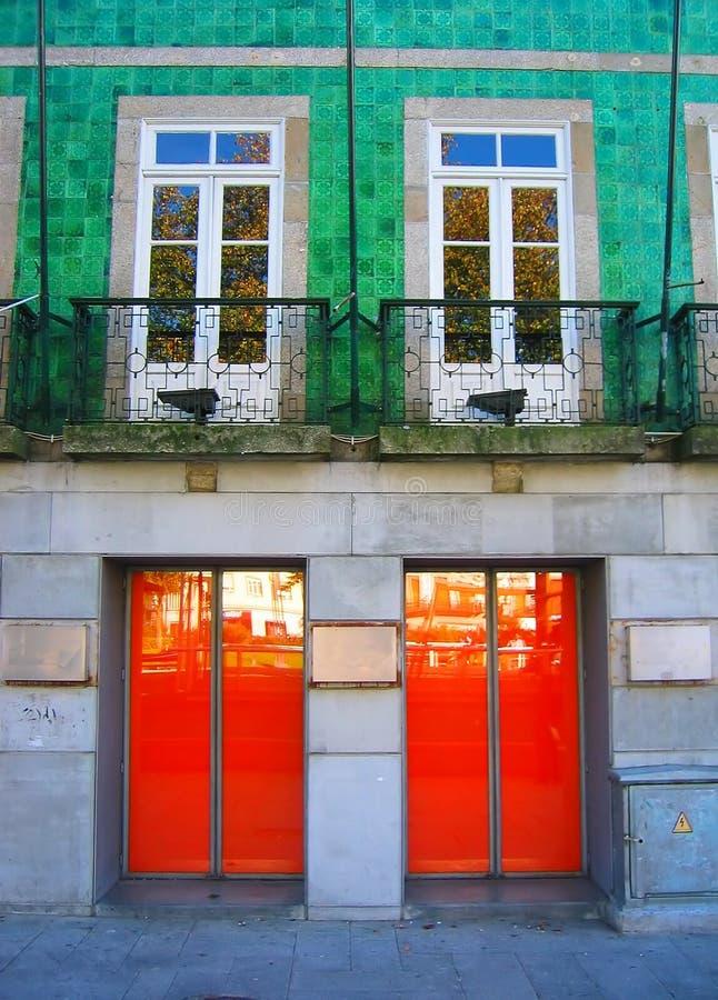 2x2 - Windows vs. Doors royalty free stock images