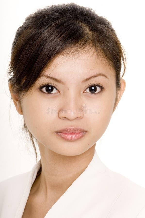 3个亚洲人女实业家 库存照片