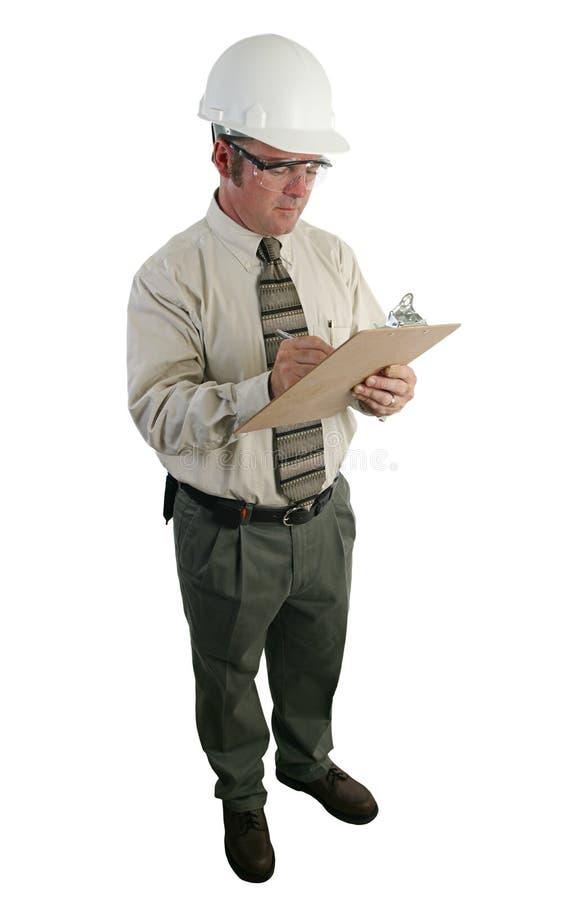 3个建筑检查员 免版税库存图片
