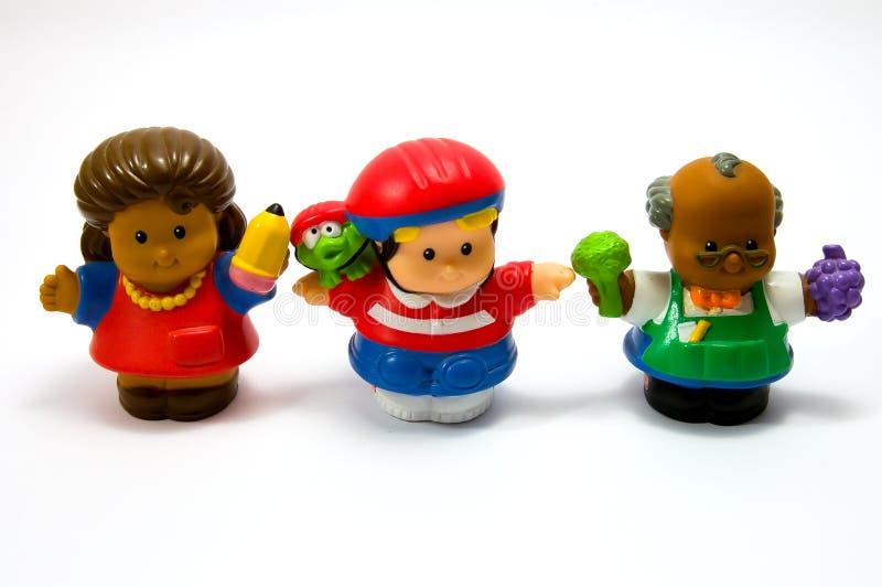 3个玩偶三 免版税库存照片