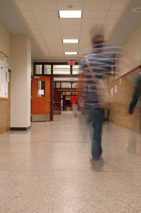 3个走廊学校 图库摄影