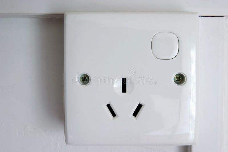 3个针插件插口 免版税库存图片