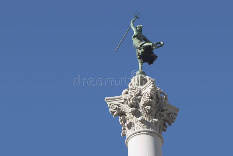 3个雕象胜利 免版税图库摄影