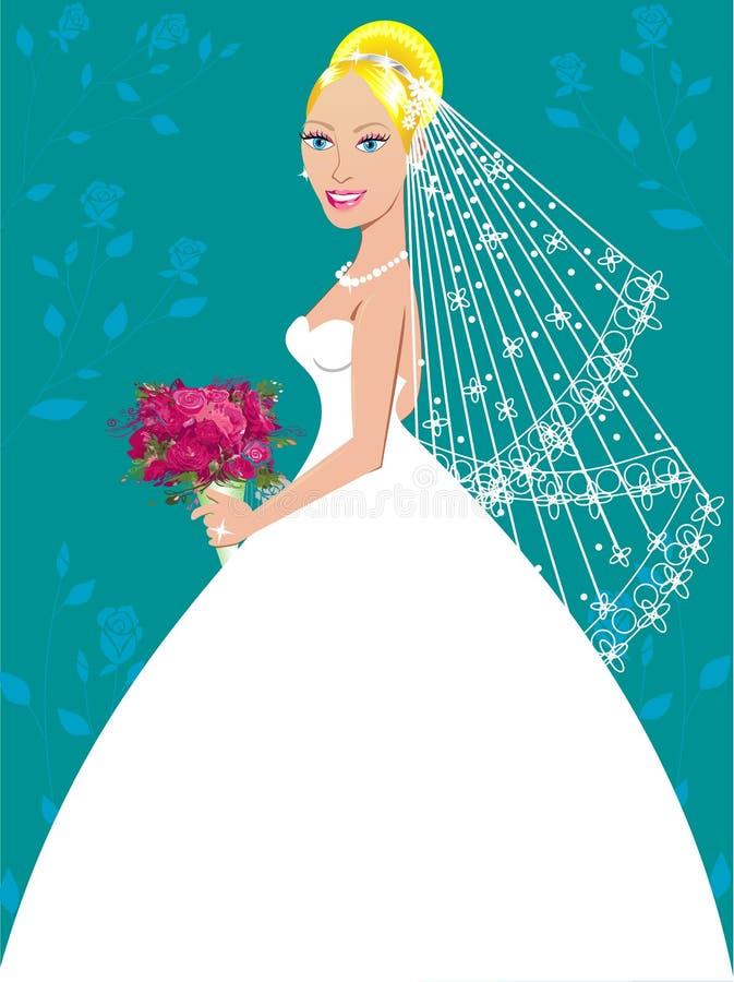 3件褂子婚礼 向量例证