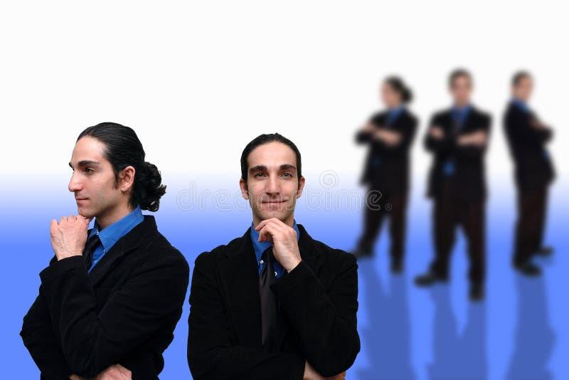 3企业小组 免版税库存照片