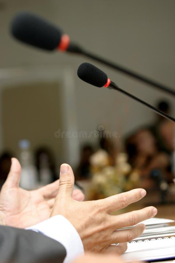 3会议 免版税图库摄影