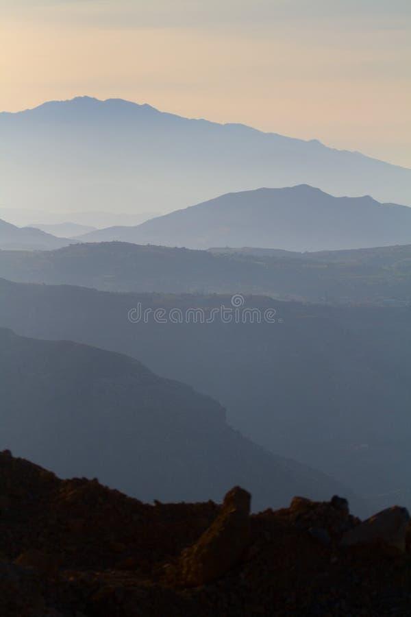 3克利特山风景 免版税库存图片