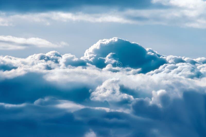 3座山天空 库存图片