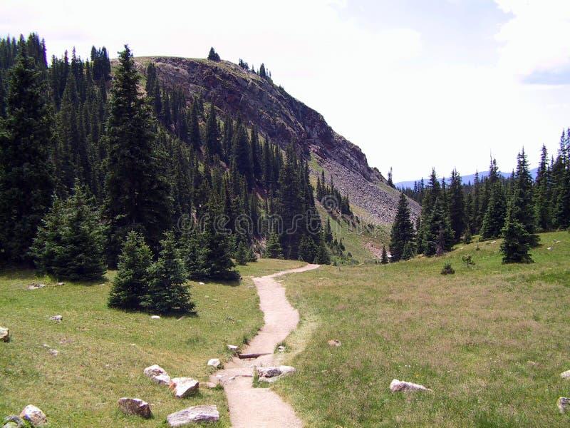 3座岩石山的国家公园 免版税库存照片