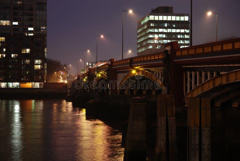 3座桥梁vauxhall 库存照片