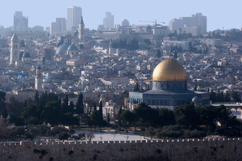 3我的耶路撒冷 库存照片
