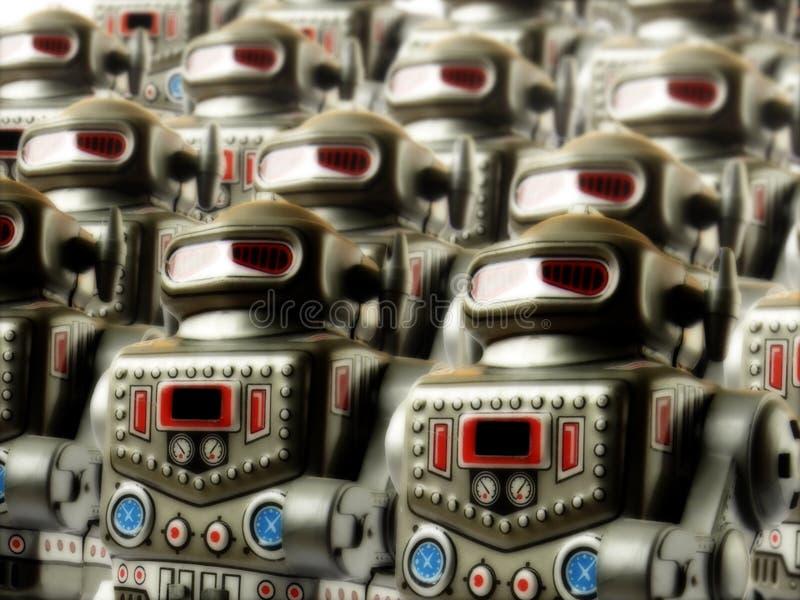 3支陆军机器人 免版税库存图片
