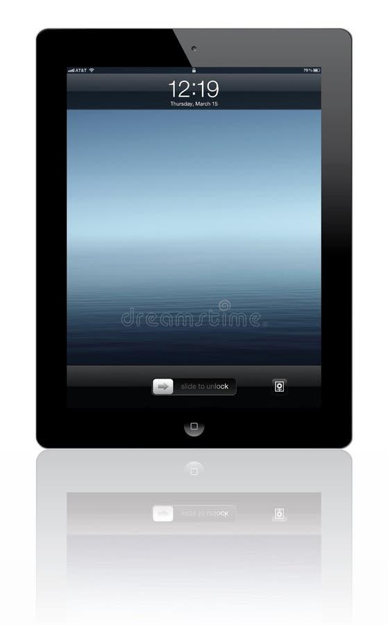 3新的ipad 向量例证