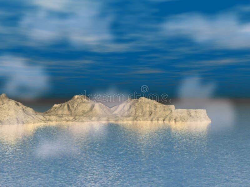 3杯梦想的水 免版税图库摄影