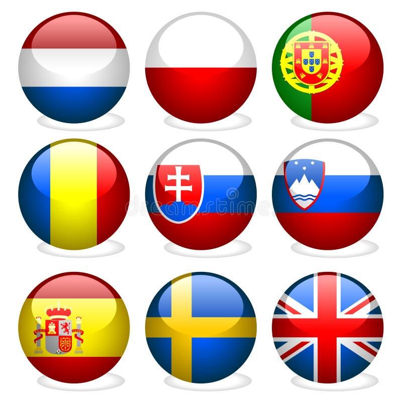 3欧洲零件联盟 皇族释放例证
