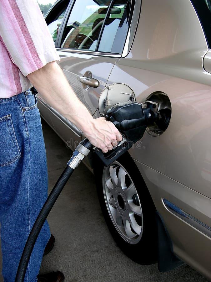 3气体抽 免版税库存图片