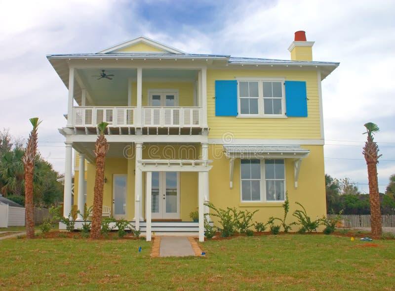 3沿海住宅 库存照片