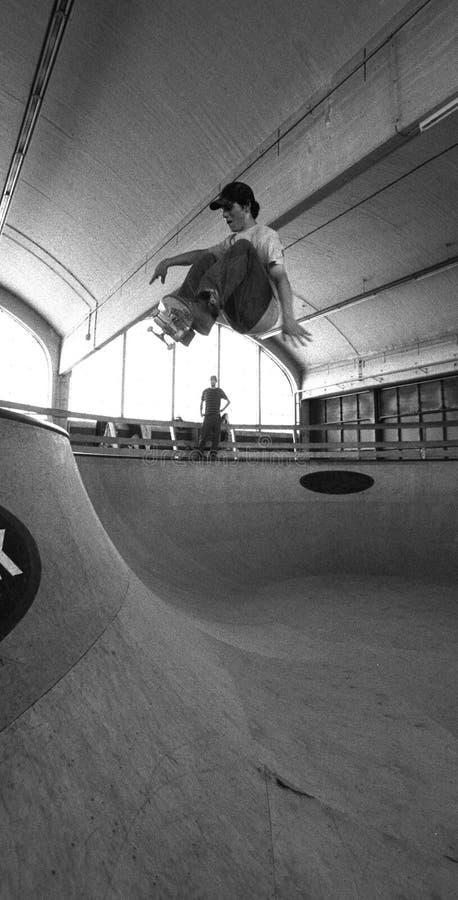 3溜冰板者 免版税图库摄影