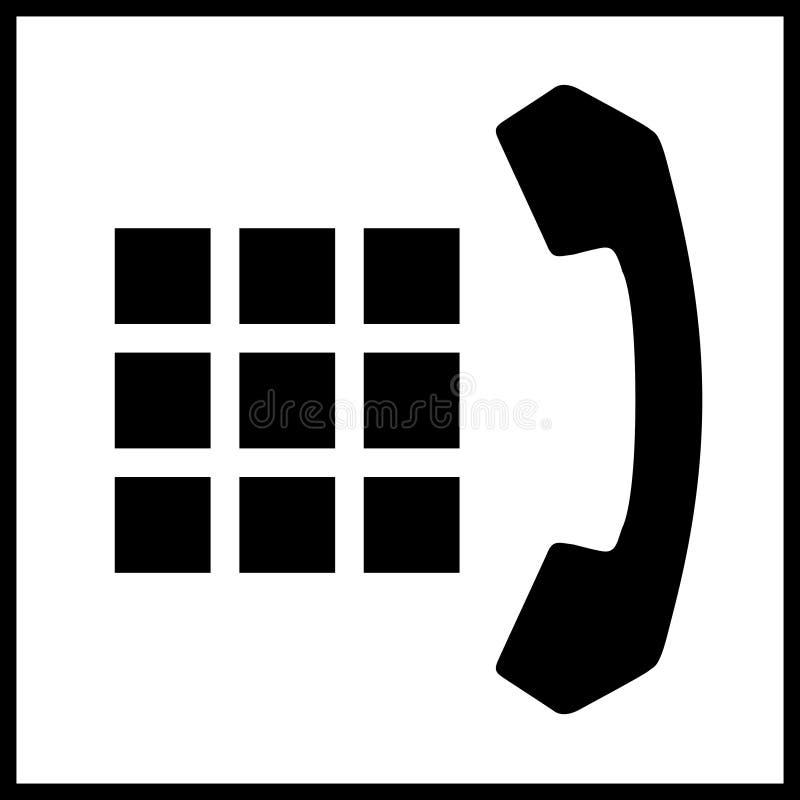 3电话 库存例证