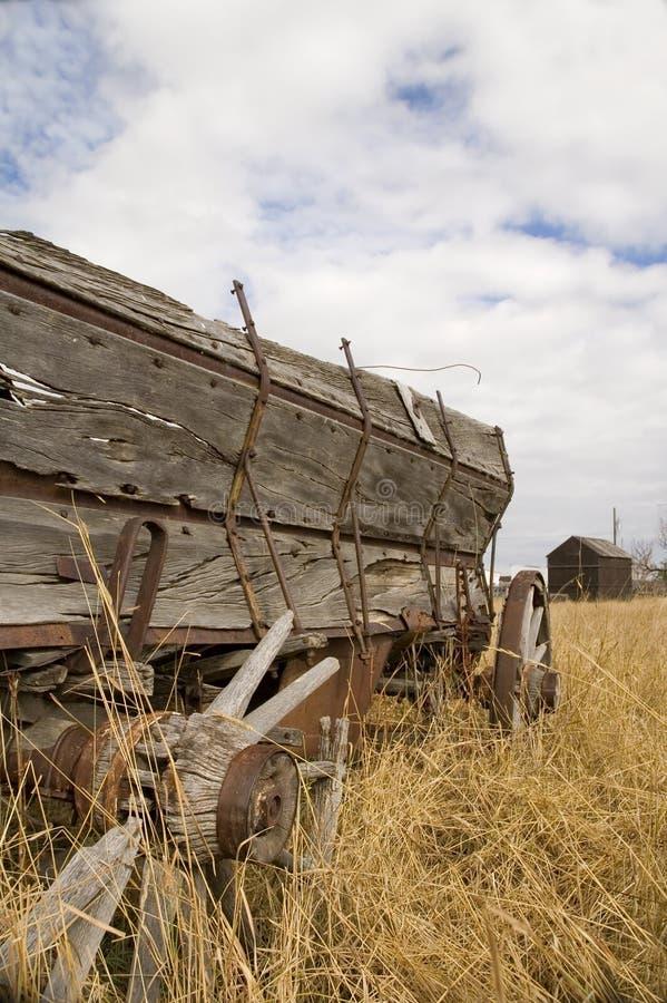 3种谷物无盖货车 免版税库存图片