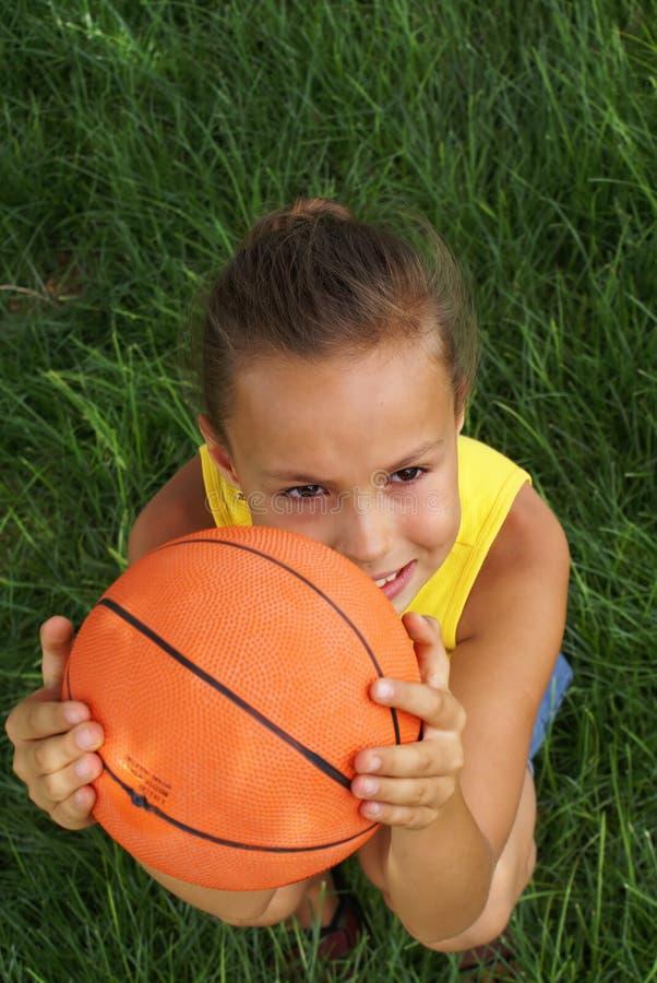 3篮球女孩 免版税库存图片
